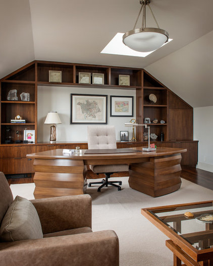 Traditional Home Office by Sutro Architects