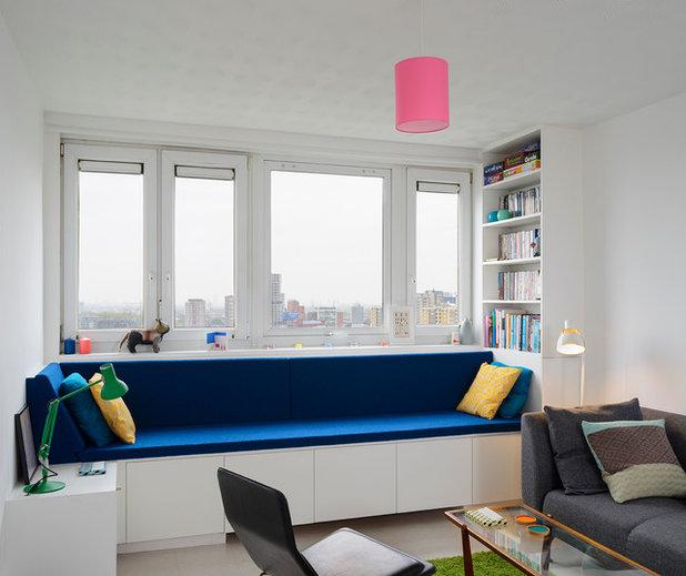コンテンポラリー ホームオフィス・書斎 by Brian O'Tuama Architects