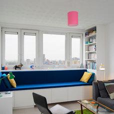 Contemporary Family Room by Brian O'Tuama Architects