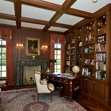 Traditional Home Office by Jane Kelly, Kitchen and Bath Designer