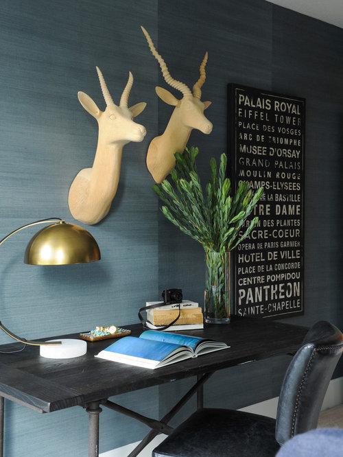 Bureau avec un sol en marbre photos et id es d co de bureaux for Bureau en marbre