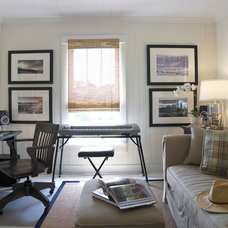 Eclectic Home Office by Austin Rese, LLC