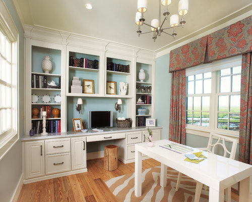 Office Built In Design Ideas  Remodel Pictures  Houzz