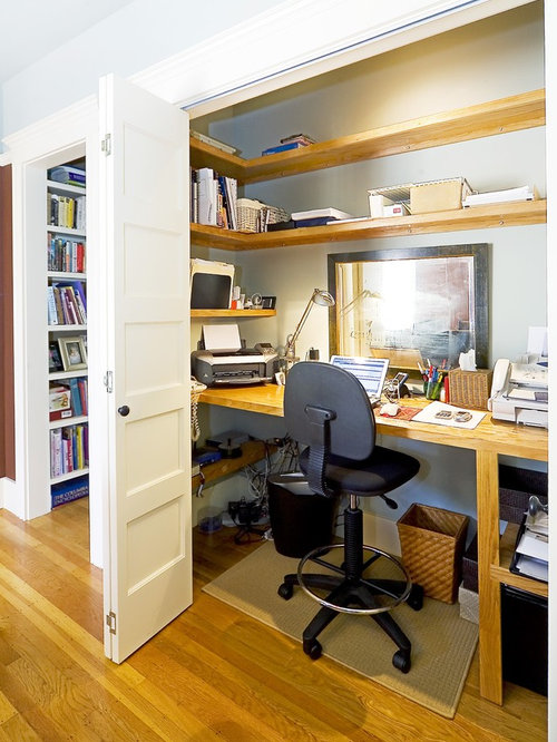 Commercial Office Design Ideas office furniture furniture office desk home office stunning mercial office wall cabinets mercial office kitchen cabinets Elegant Home Office Photo In San Francisco With Gray Walls Medium Tone Hardwood Floors And
