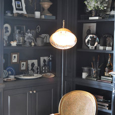 Eclectic Home Office Collector's Library: Jonathan Rachman Design