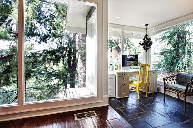 Klassisch modern Arbeitszimmer by S / Wiley Interior Photography