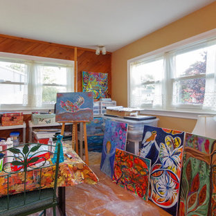 Colorful Painter's Studio with New Windows - Renewal by Andersen