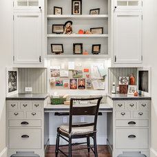 Traditional Home Office by Karen Richmond, Neil Kelly Company