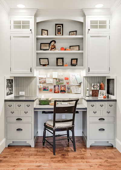 American Traditional Home Office by Karen Richmond, Neil Kelly Company