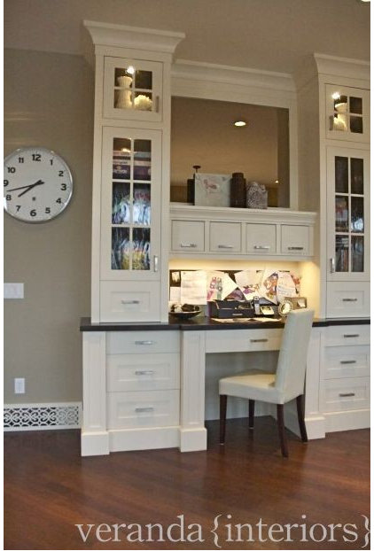 contemporary home office by Veranda Estate Homes & Interiors
