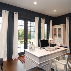 Traditional Home Office by Comstock Residential Contracting, LLC