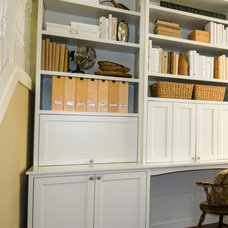 Traditional Home Office by shack design + consulting
