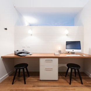 perth small space office storage solutions. This Is An Example Of A Contemporary Study Room In Canberra - Queanbeyan  With White Walls Perth Small Space Office Storage Solutions