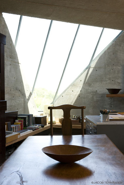 Industrial Home Office by Mell Lawrence Architects
