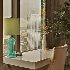 Modern Home Office by Darci Goodman Design
