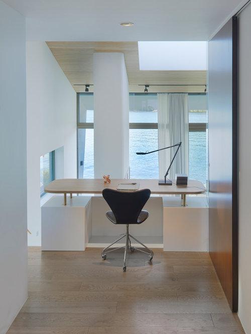Arbeitszimmer in schweden ideen design bilder houzz for Arbeitszimmer wandfarbe