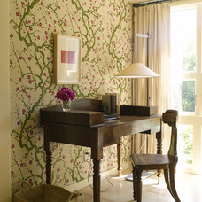 Eclectic Home Office by Dufner Heighes Inc