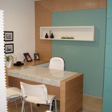 Contemporary Home Office by Karla Marques