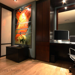 contemporary home office by Whirlygig Designs