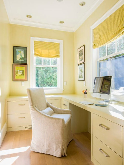 25 Best Study Room with Yellow Walls Ideas & Photos   Houzz