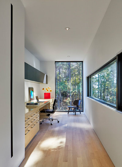 Contemporary Home Office by Weather Shield Windows & Doors