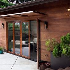 Modern Home Office by Revive Landscape Design
