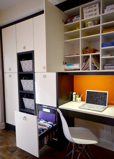 Contemporary Home Office by StyleHaus Interiors
