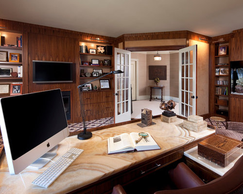 Home Office Library Design Ideas & Remodel Pictures | Houzz