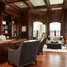 Transitional Home Office by The Design Source Ltd