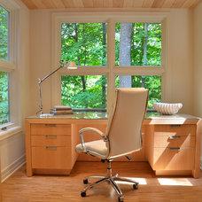 Modern Home Office by Amy Carman Design