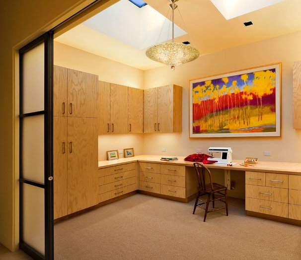 Contemporary Home Office by Ana Williamson Architect