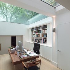 Contemporary Home Office by Maxwell & Company Architects