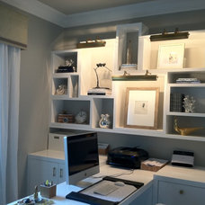 Contemporary Home Office by Andrea May Hunter/Gatherer