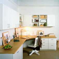Contemporary Home Office by California Closets HQ