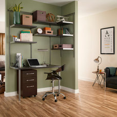 Contemporary Home Office by ClosetMaid