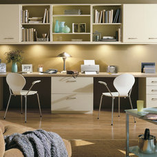 Contemporary Home Office by Colorado Space Solutions