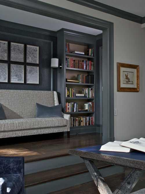 Light Wall Paint With Dark Trim : Dark Gray Baseboards Design Ideas & Remodel Pictures Houzz