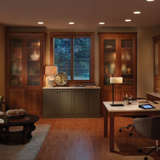 Contemporary Home Office by Innermost Cabinets