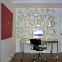 contemporary home office by James Wagman Architect, LLC