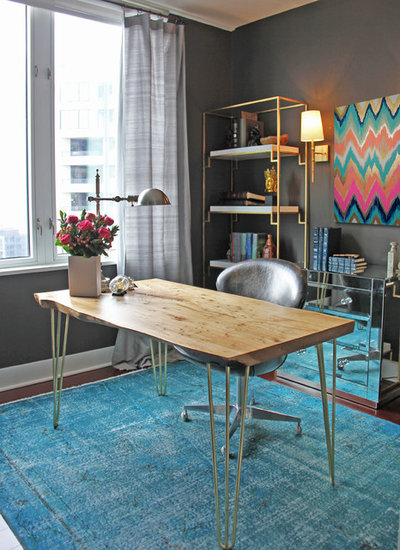 Contemporary Home Office by K&L Interiors