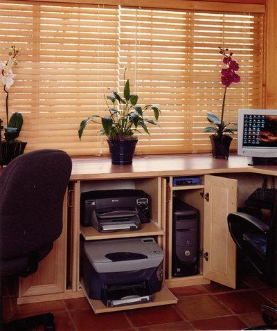 コンテンポラリー ホームオフィス・書斎 Contemporary Home Office