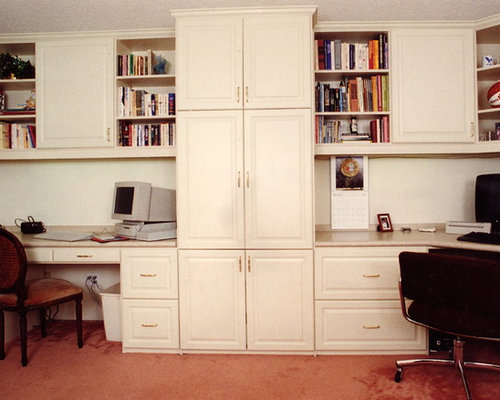 Best Melamine Custom Home Office Design Ideas & Remodel Pictures