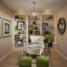 Contemporary Home Office by Maracay Homes Design Studio