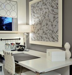 contemporary home office by Sarah St. Amand Interior Design - Brantford, Ont.