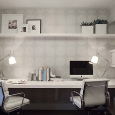 Contemporary Home Office by After Design