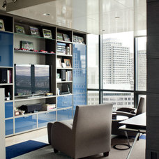 Contemporary Home Office by the orpin group, interior design