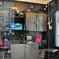 Contemporary Home Office by Tran + Thomas Design Studio