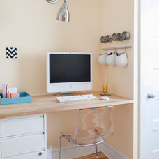 Contemporary Home Office by Tyler Grace
