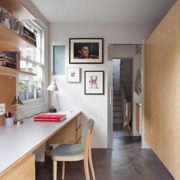 Contemporary Islington Home Renovation and Garden Studio