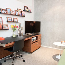 Modern Home Office by Chimera Interior Design